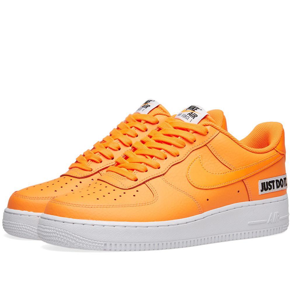 defef7b83c9705 Nike Air Force 1 '07 Lv8 Jdi Leather In Orange   ModeSens