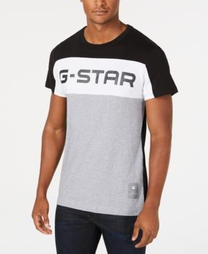 44c1b632297 G-Star Raw Men's Colorblocked Logo T-Shirt, Created For Macy's In ...