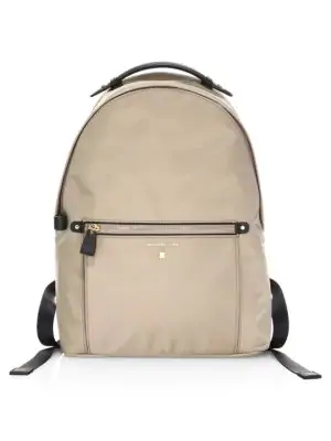35e34c5786c7 Michael Michael Kors Large Kelsey Nylon Backpack In Truffle