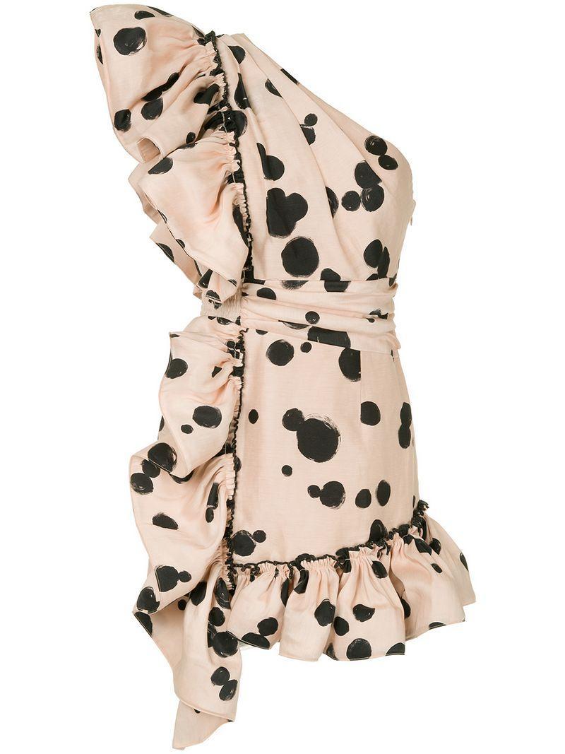 Aje Beronia Dress - Pink