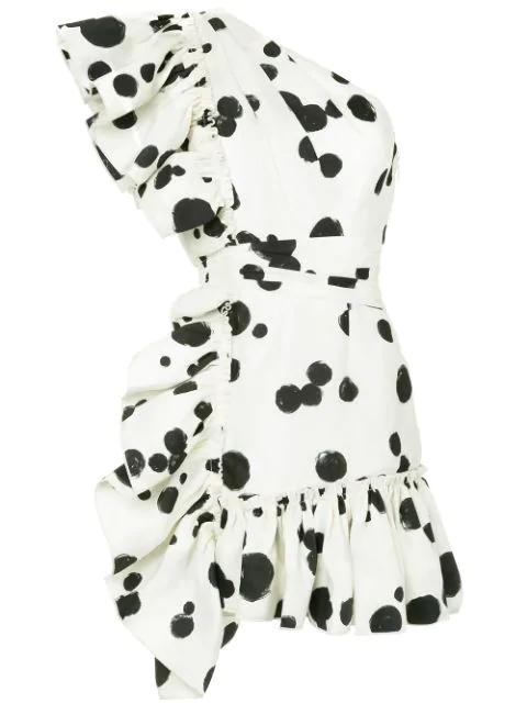 Aje Beronia Dress - White