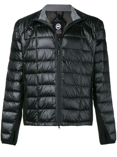 Canada Goose Padded Jacket In Black