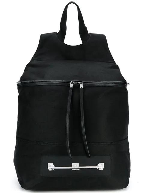 Rick Owens Drkshdw Graphic Print Backpack - Black