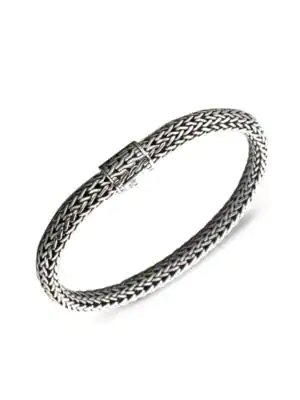 John Hardy Classic Chain Sterling Silver Small Bracelet In No Color