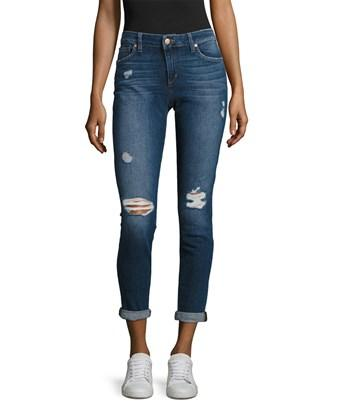 Joe's Jeans Rolled Skinny Ankle Pant In Nocolor