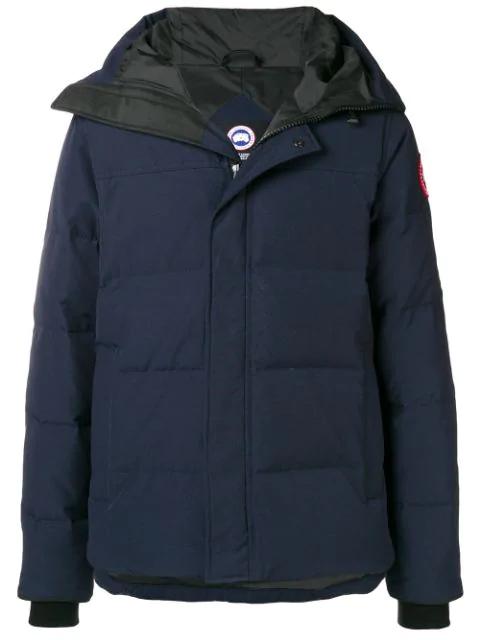 Canada Goose Short Padded Coat - Blue