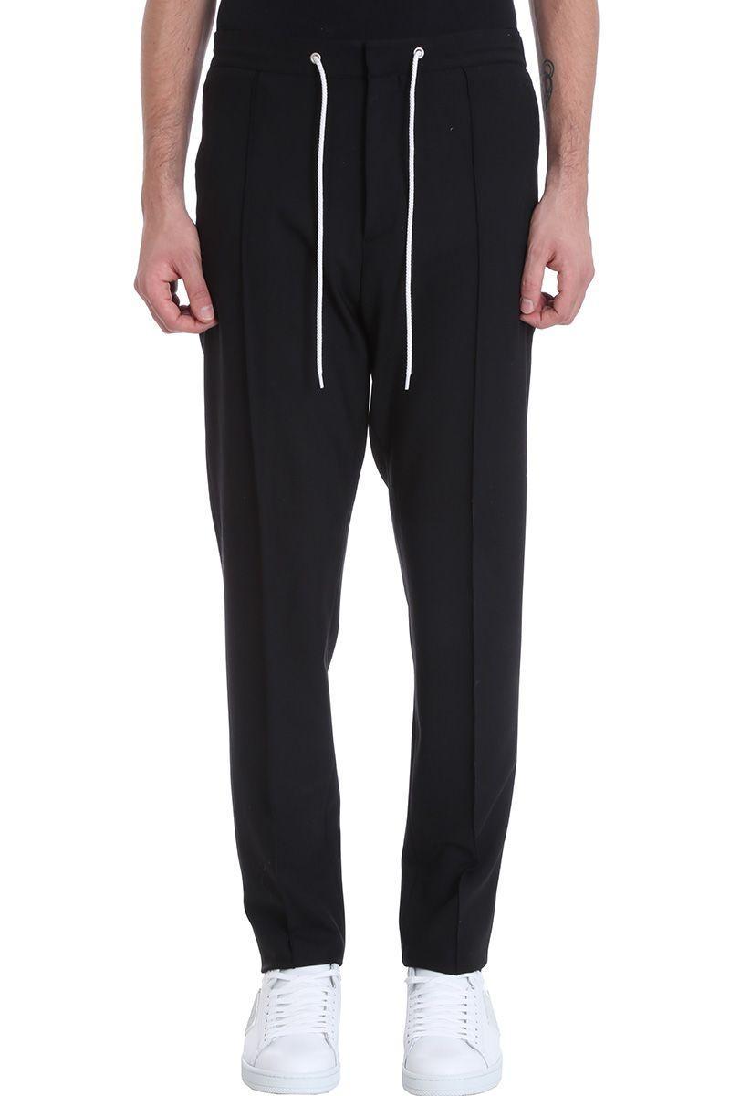 Kenzo Black Wool Pants