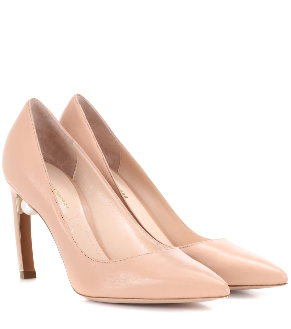 Nicholas Kirkwood Patent Leather Pumps In Pink