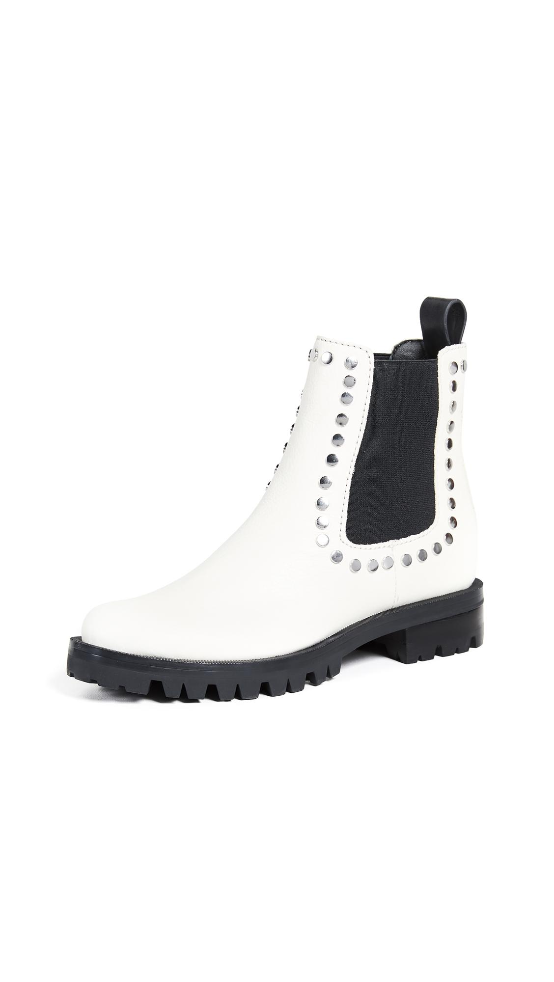 6f774a110d2 Dolce Vita Peton Chelsea Booties In Off White