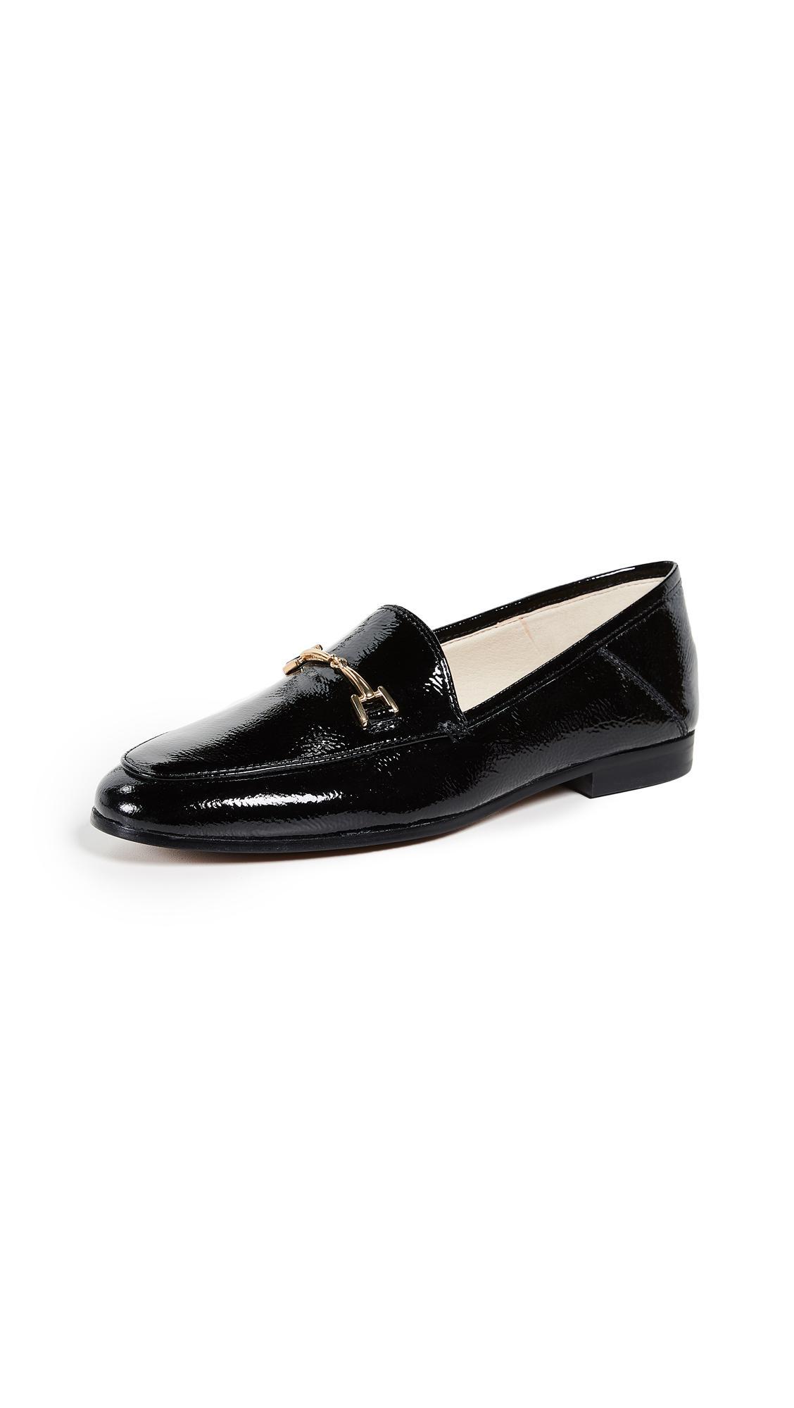 7eb29d71f94 Sam Edelman Loraine Black Patent Leather Loafers