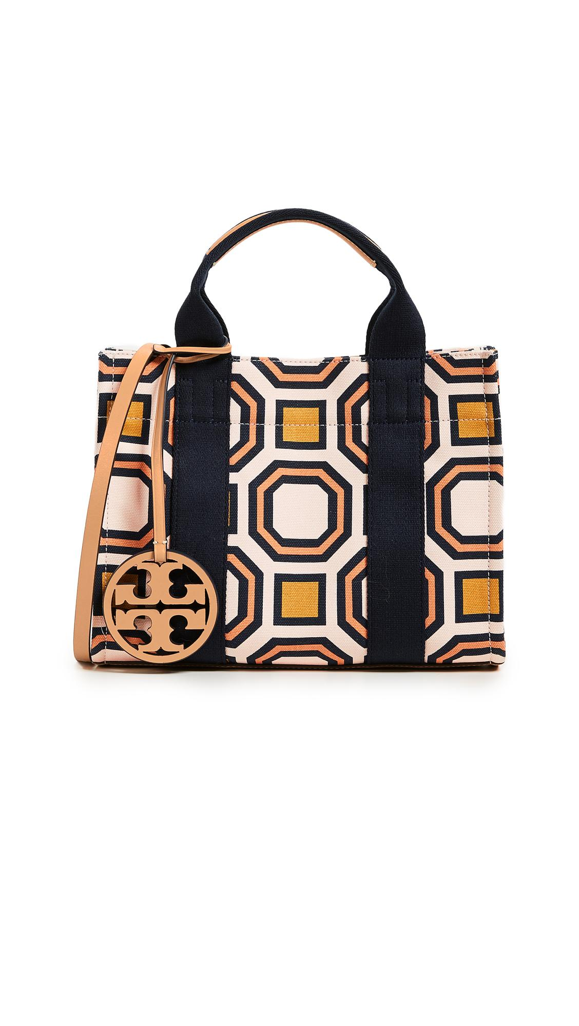 f0f484f0fb0 Tory Burch Tory Mini Tote In Ballet Pink Octagon Square