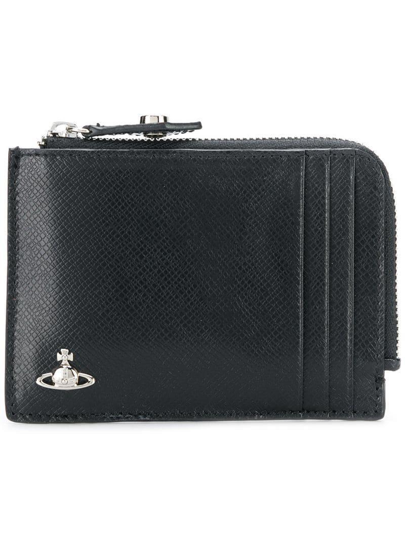 e44b681dd7d Vivienne Westwood All Around Zip Wallet - Black   ModeSens