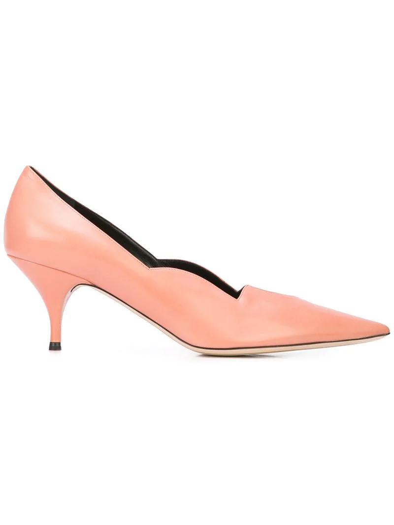 Nina Ricci Pointed Toe Pumps - Pink