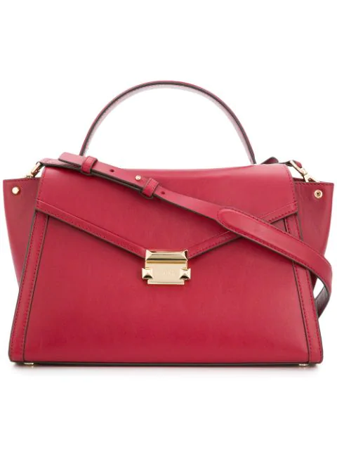 Michael Michael Kors 'Whitney' Handtasche Rot in Red