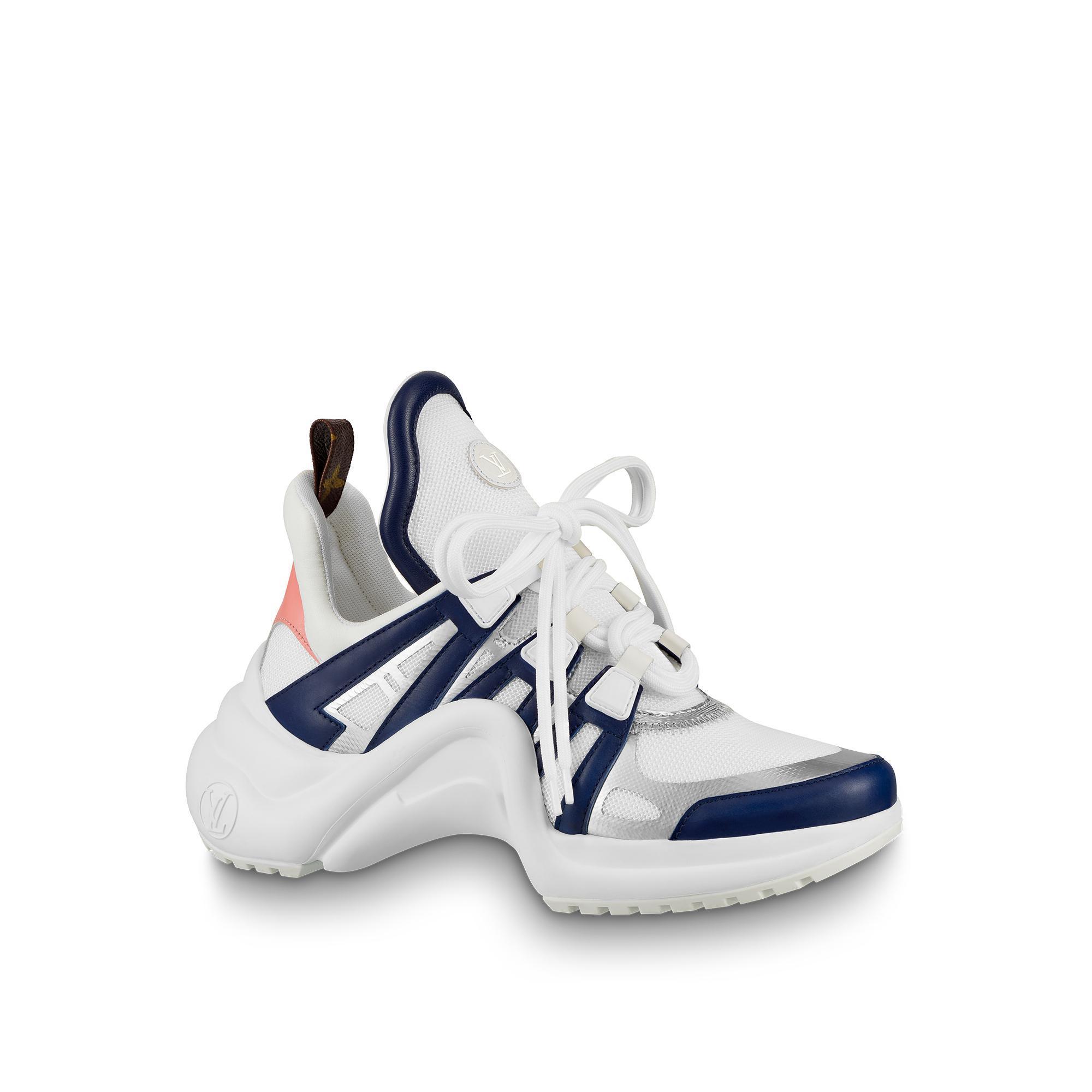 82a8dbe2d88d Louis Vuitton Lv Archlight Sneaker In Silver