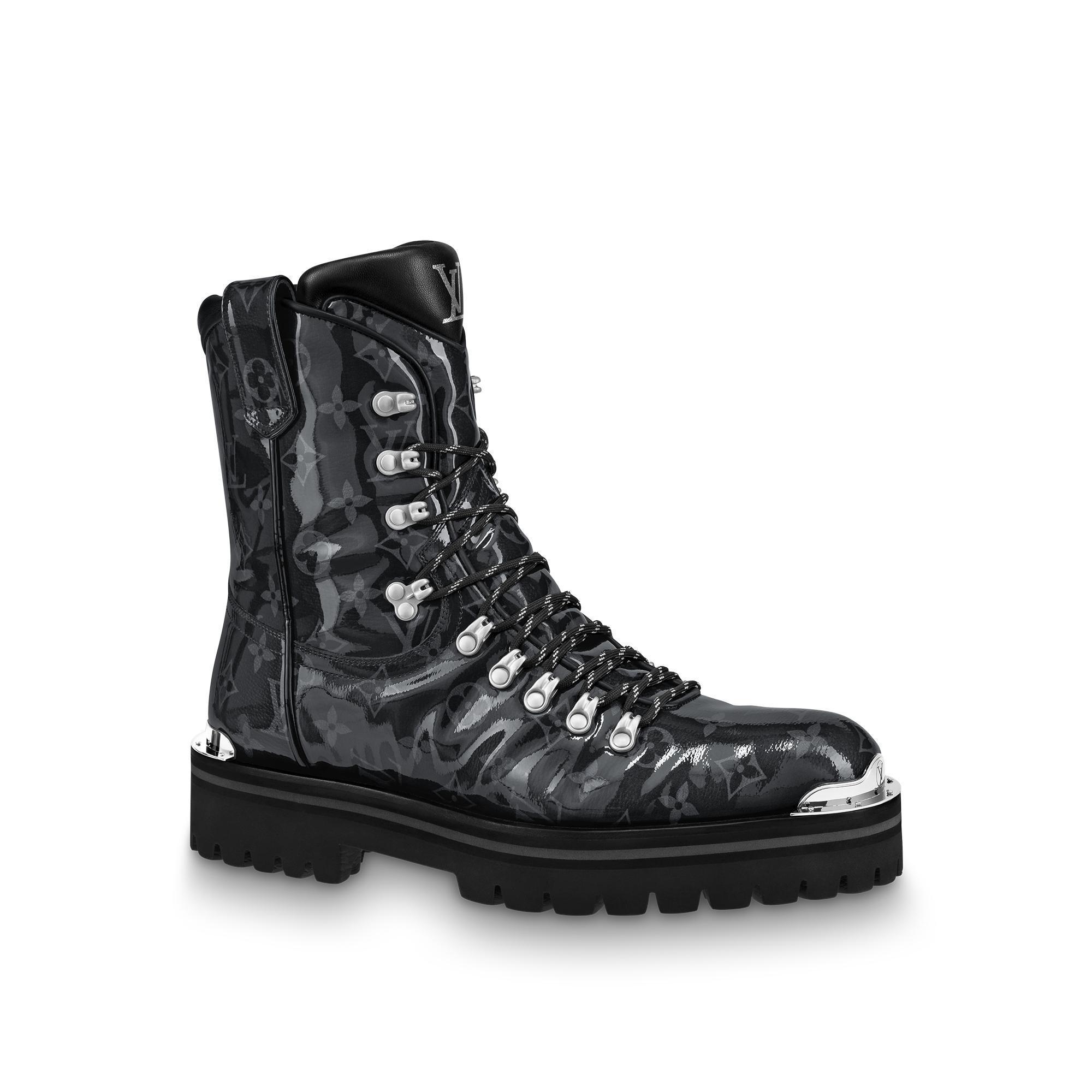 37143ab25db8 Louis Vuitton Lv Outland Ankle Boot