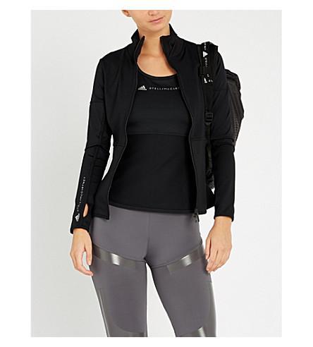 Adidas By Stella Mccartney Essential Midlayer Top In Black