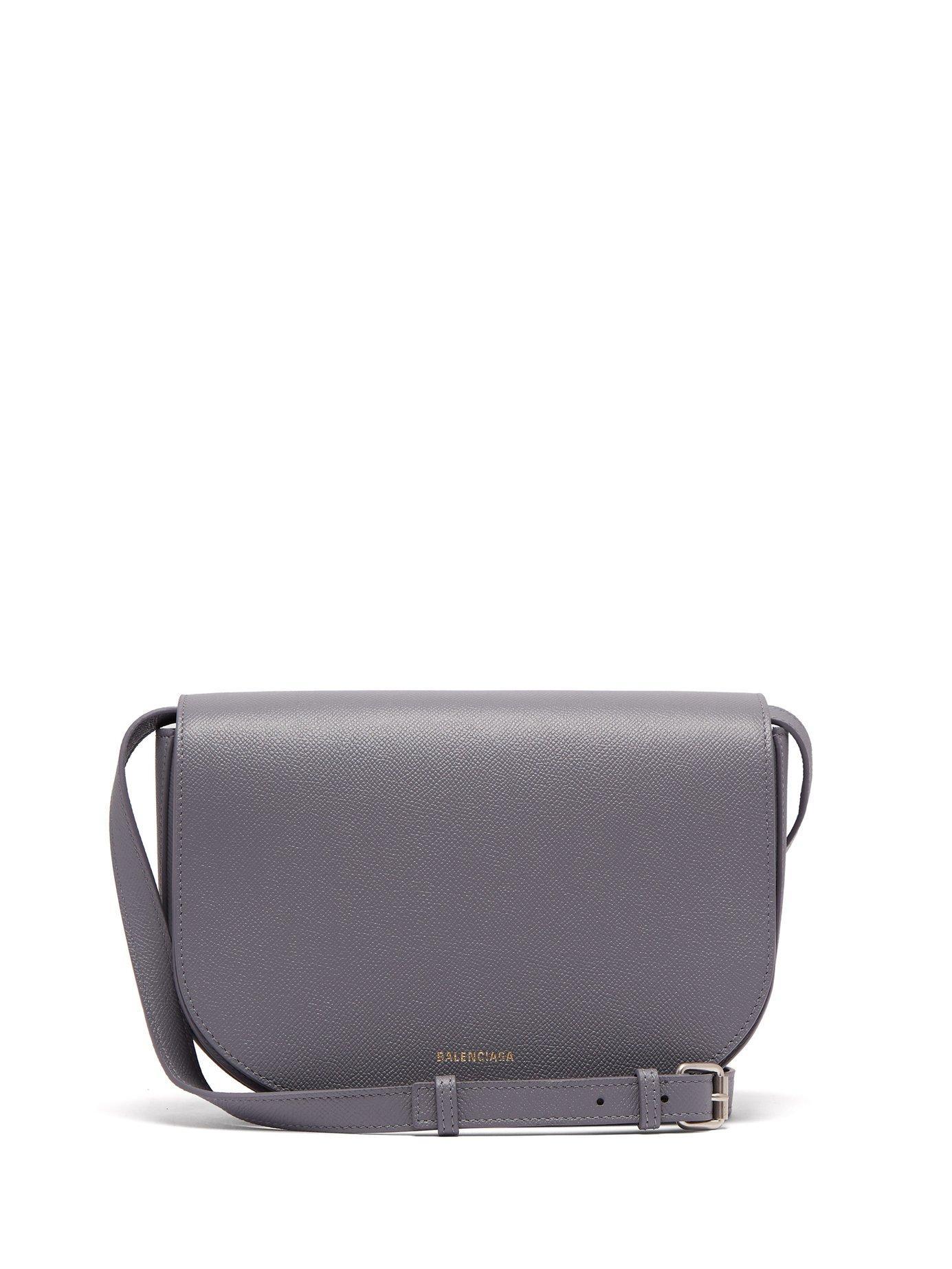 Balenciaga Ville S Cross-body Bag In Grey White