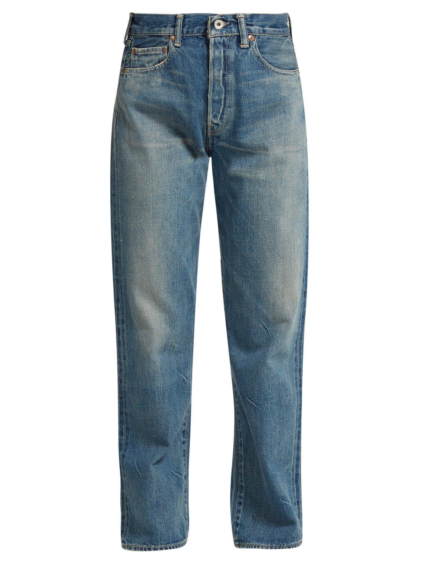 Chimala Selvedge-denim Straight-leg Jeans In Blue