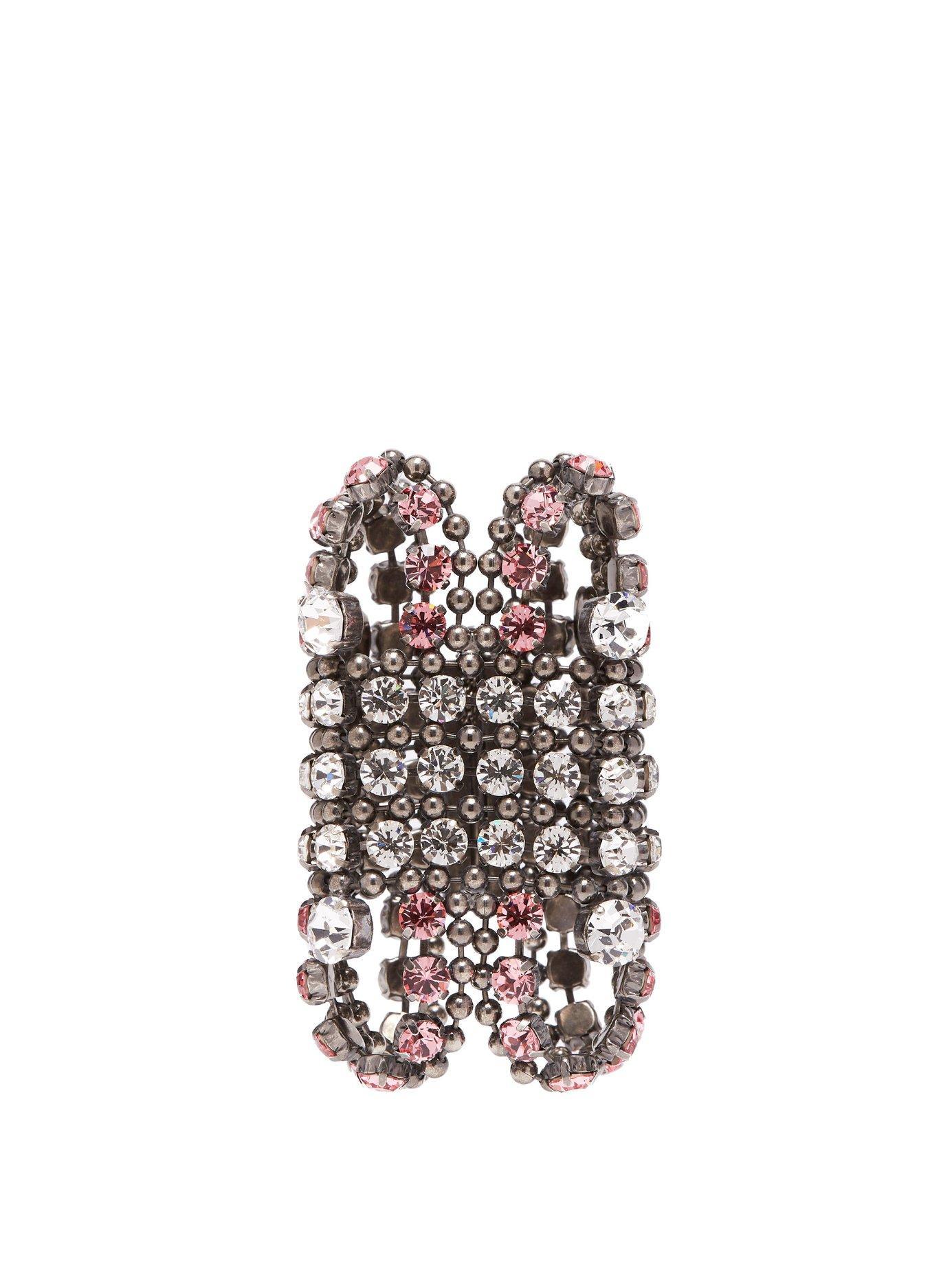 Gucci Crystal-embellished Cuff
