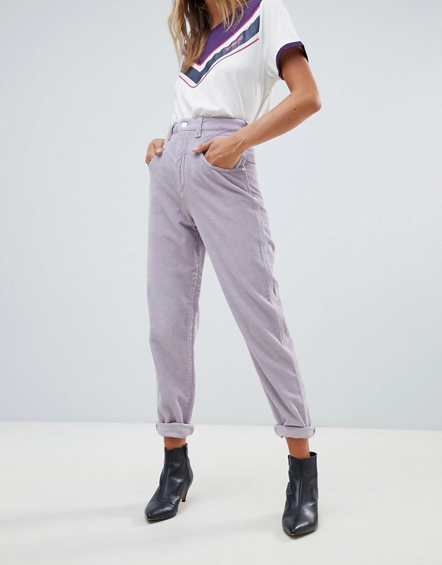 Wrangler Tapered Cord Jean - Purple