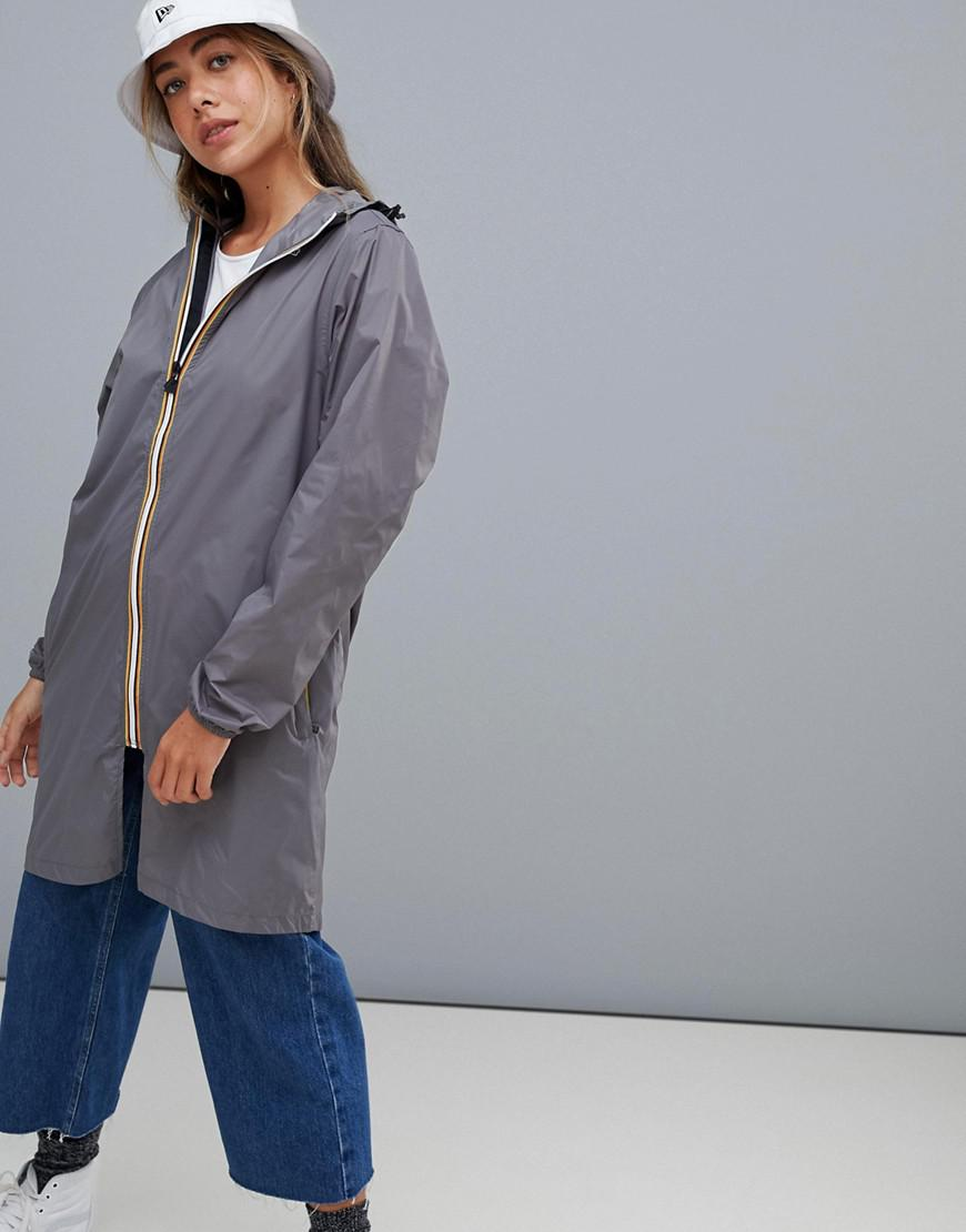 K-way Le Vrai 3.0 Eiffel Jacket In Gray - Gray