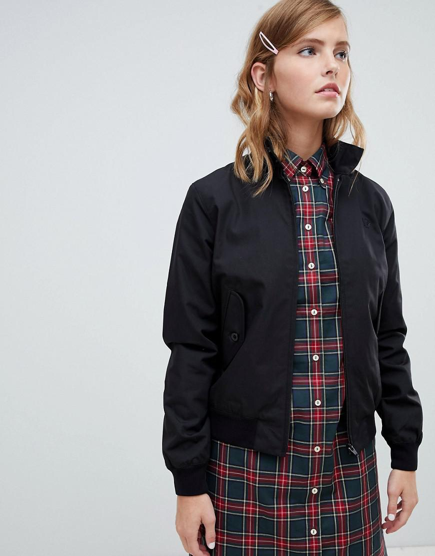 Fred Perry Made In England Harrington Jacket - Black