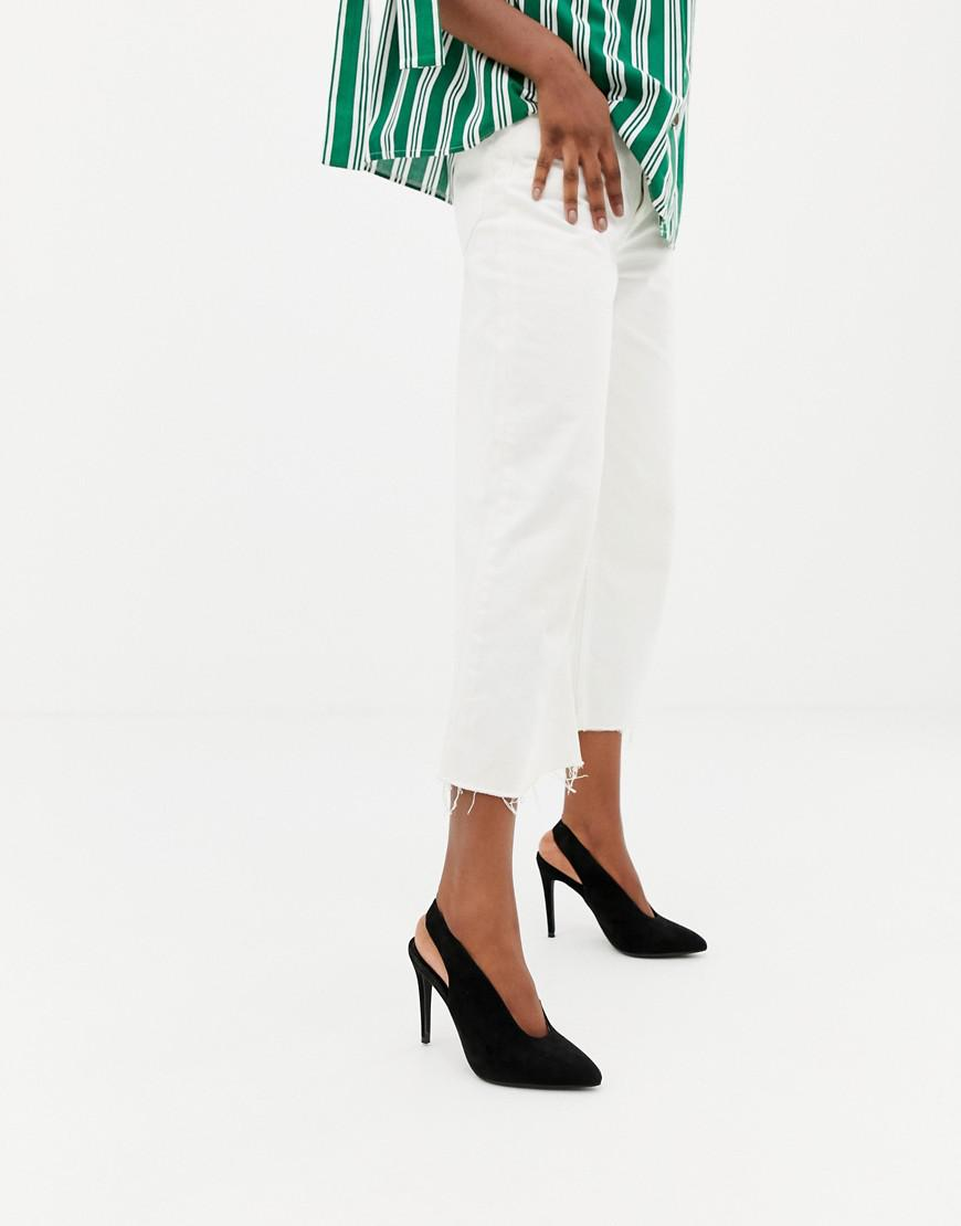 New Look Slingback Court Shoe - Black