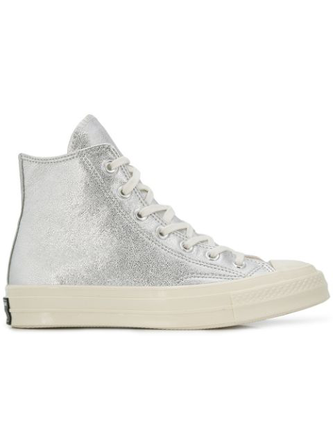 Converse Chuck Taylor All Star Hi-top Sneakers - Metallic