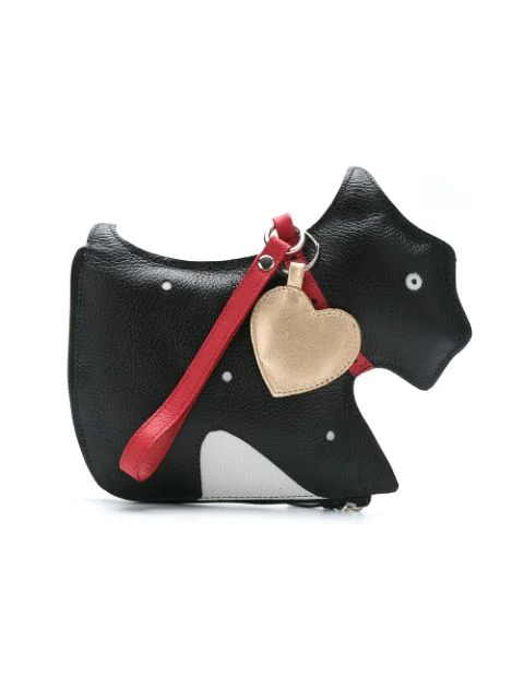 Sarah Chofakian Leather Purse In Black