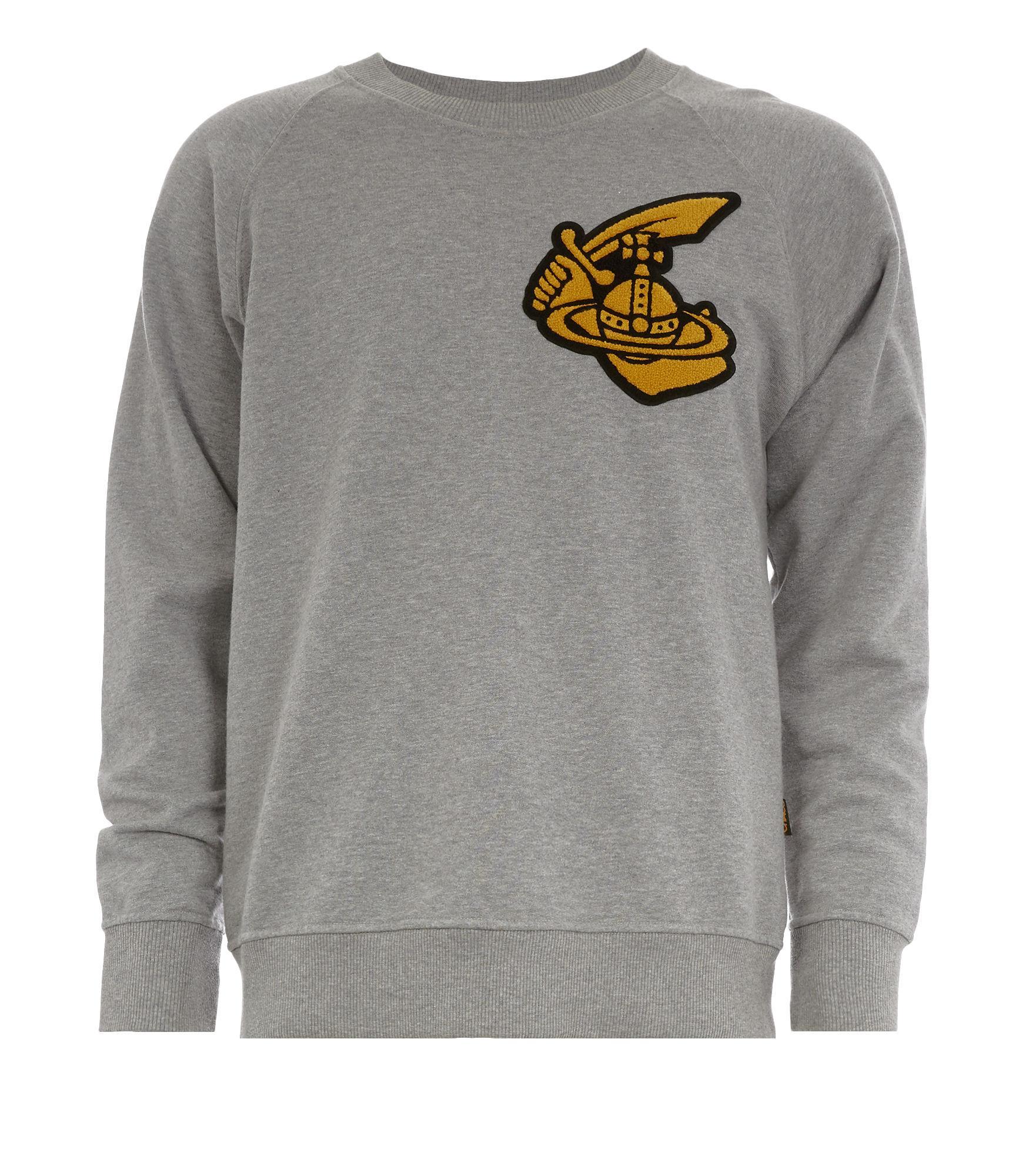 Vivienne Westwood Classic Sweatshirt With Patch Grey