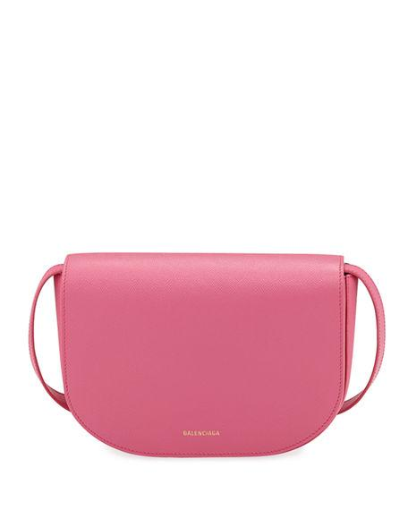 fa3981942a Balenciaga Ville Day Small Aj Grained Leather Shoulder Bag In Pink ...
