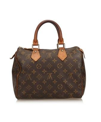 Louis Vuitton Pre-owned: Monogram Speedy 25 In Brown