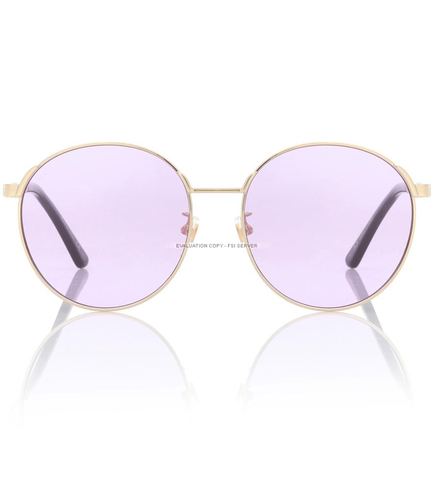 Gucci Exclusive To Mytheresa - Round Sunglasses In Purple