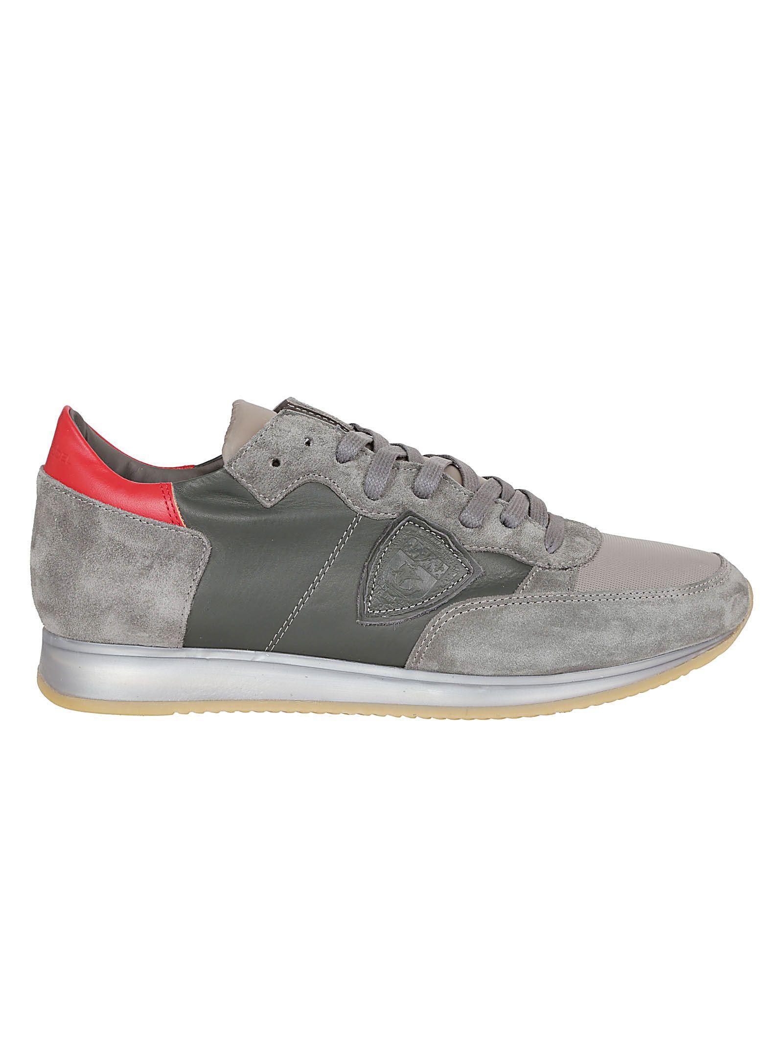 Philippe Model Tropez Sneakers In Grigio
