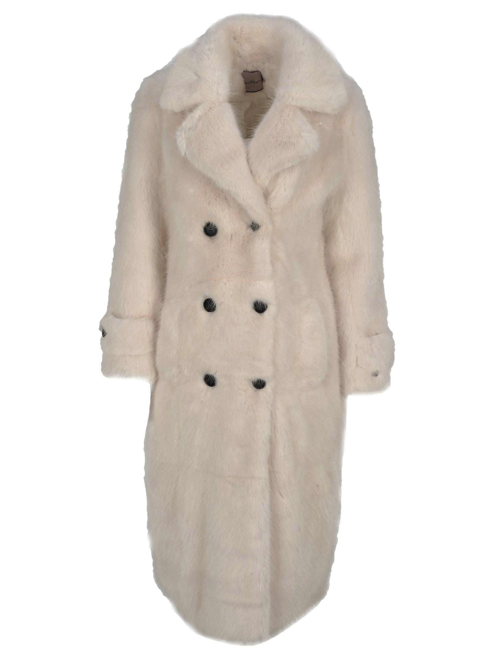 Urbancode Coat Fur In White Magic