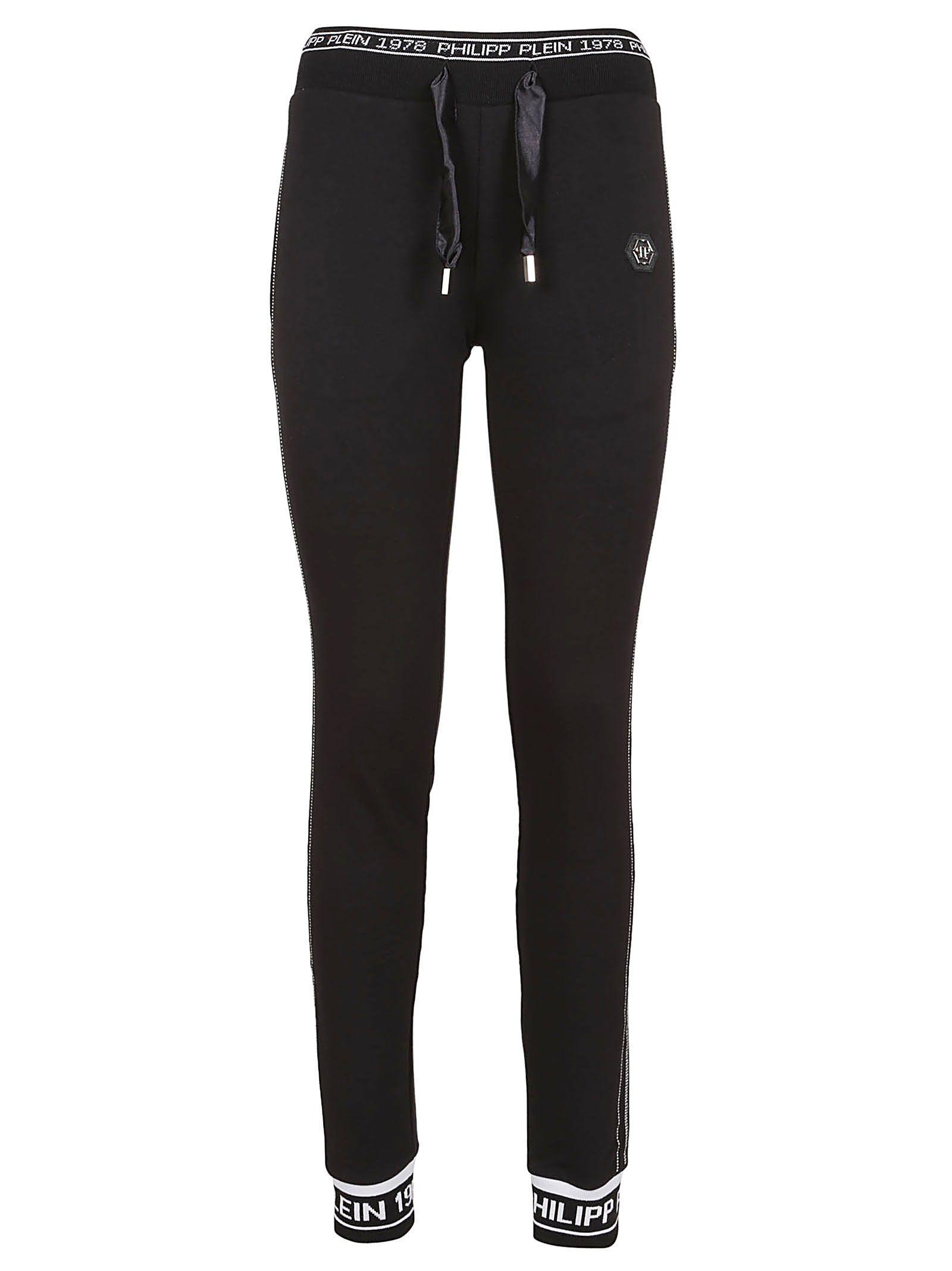 Philipp Plein Logo Track Pants In Black