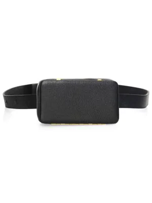 Lutz Morris Evan Convertible Belt Bag In Black