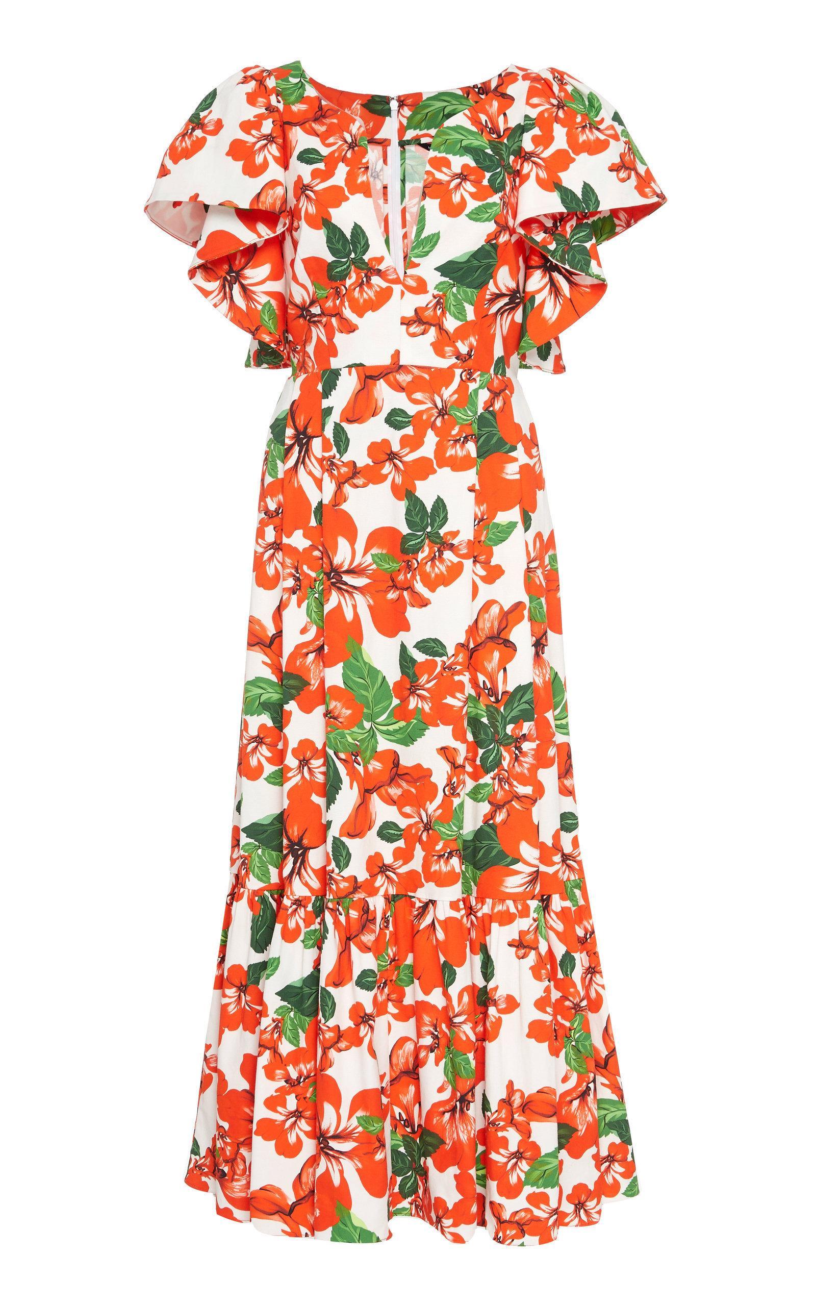 Marissa Webb Issa Print Dress In Floral
