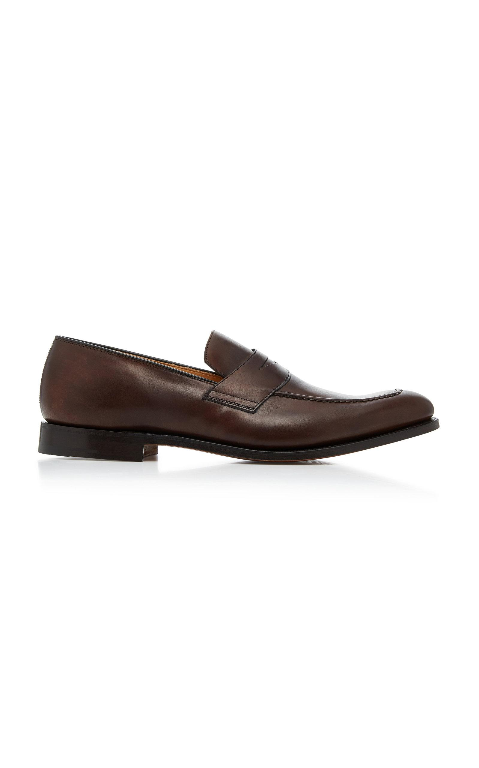 Church's Hertford Leather Penny Loafers In Brown