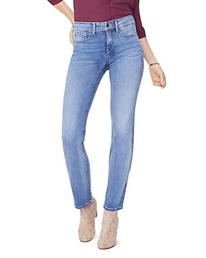 Nydj Marilyn Straight Jeans In Clean Cabrillo
