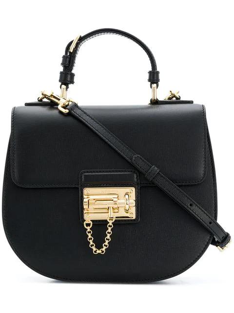Dolce & Gabbana Top Handle Tote Bag In Black