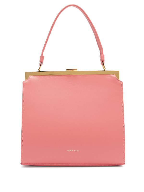 Mansur Gavriel Elegant Leather Bag In Pink