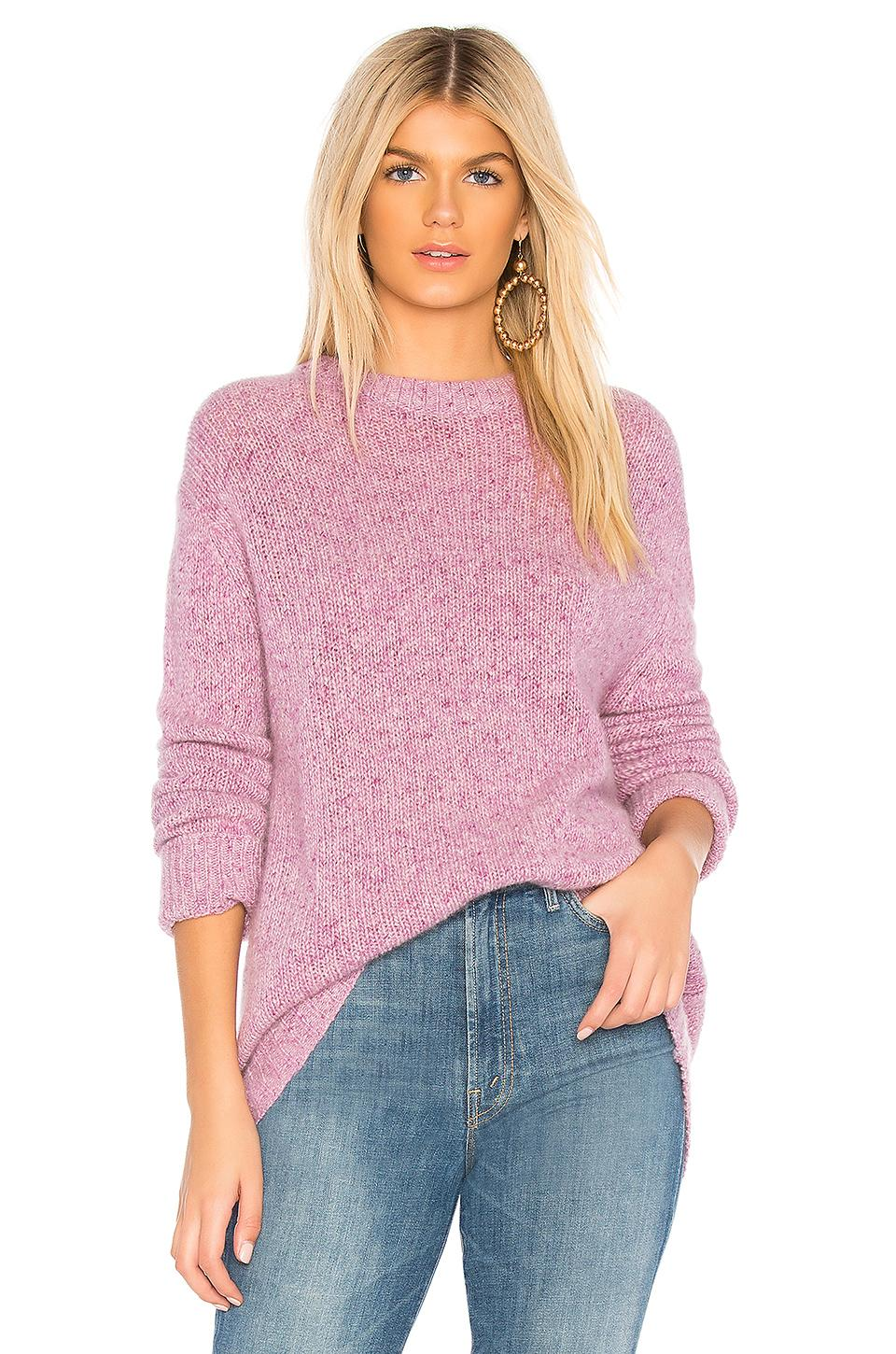360cashmere Mag Sweater In Purple. In May Blossom