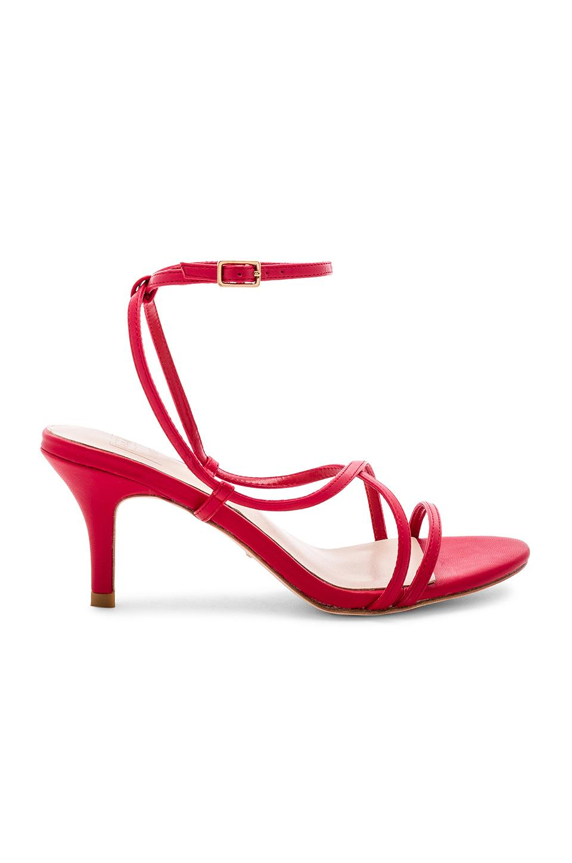 Raye X Stone_cold_fox Vine Heel In Red.