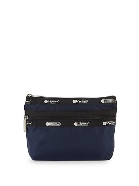 Lesportsac Small Taylor Zip Pouch In Navy