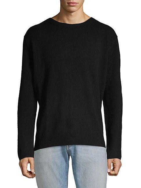Zadig & Voltaire Eddy Wool Cashmere Sweater In Black