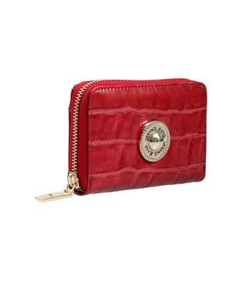 Versace Ee3vsbpo2 E500 Red Wallet