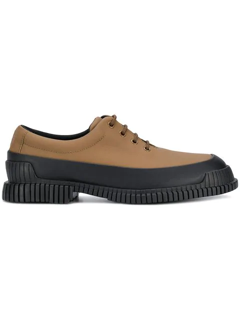 Camper Pix Lace-up Shoes - Brown