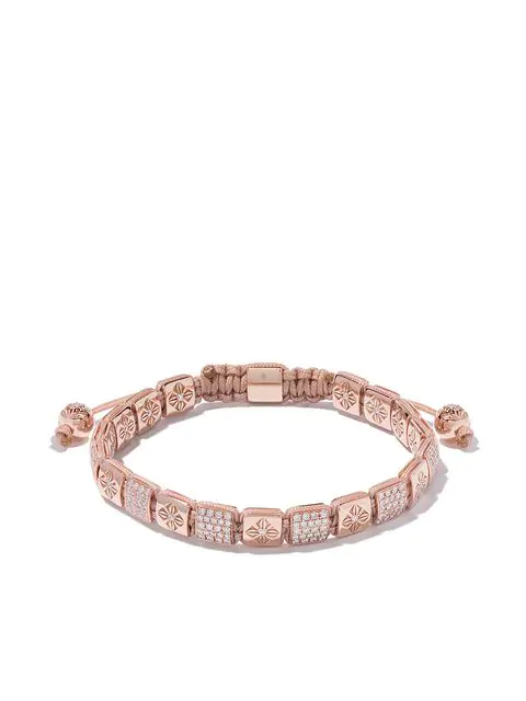 Shamballa Jewels 18kt Rose Gold And Diamond Flip